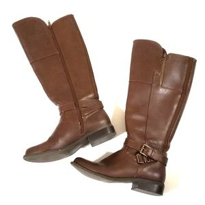 《G by Guess》Brown Riding Boots Knee High Sz 7
